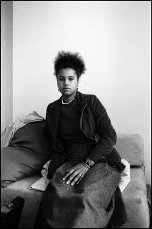 Nenah Cherry in a squat on Ladbroke Grove, London 1981.