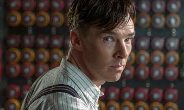 Benedict Cumberbatch as Alan Turing in the Imitation Game.