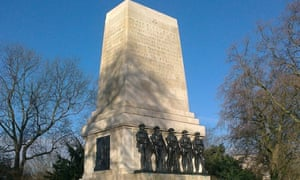 Guards' memorial in Horse Guards Parade