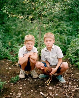 One of the four shortlisted images: Braian and Ryan.