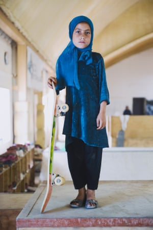 Shortlisted image: Skate Girl by Jessica Fulford-Dobson.