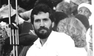 Slain Mozambican journalist Carlos Cardoso.