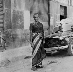 Hijra at Colaba district Mumbai 2007
