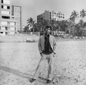 Young Man suited up on Juhu beach 2007