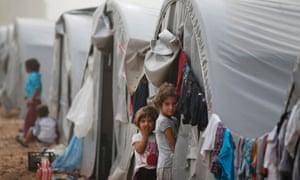 Syrian Kurdish refugee children