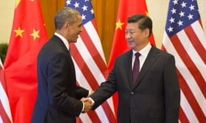 U.S. President Barack Obama and Chinese President Xi Jinping Obama Welcoming Ceremony, Beijing, China - 11 Nov 2014