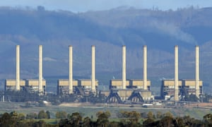 The Hazelwood power station in the Latrobe Valley, Victoria.