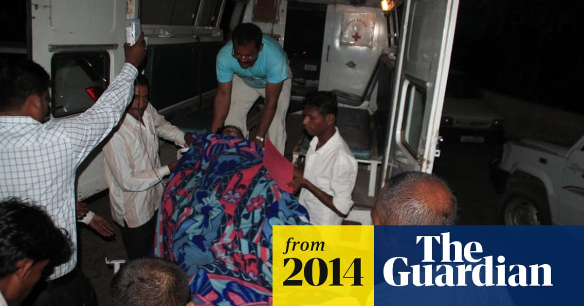 India mass sterilisation: women were 'forced' into camps