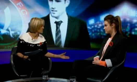Sheffield United patron Charlie Webster used a Newsnight interview to explain her resignation.