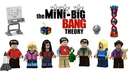 Big Bang Theory Lego