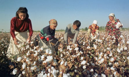 Around one million public servants are drafted in every year to help harvest the country's crucial cotton crops.