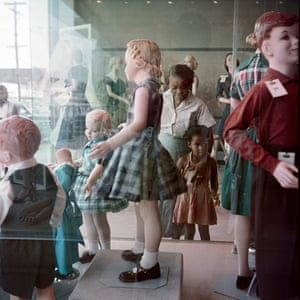 Ondria Tanner and Her Grandmother Window-Shopping, Mobile, Alabama, 1956.