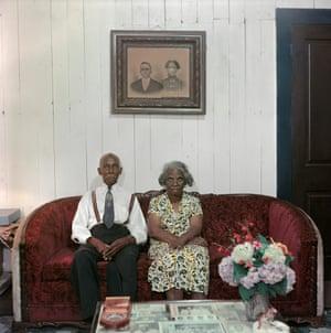 Mr. and Mrs. Albert Thornton, Mobile, Alabama, 1956.