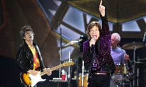 The Rolling Stones in concert in Israel