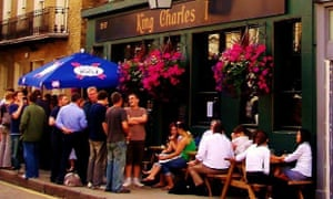 King Charles I pub, London