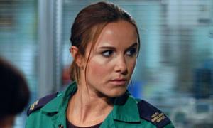 Rebekah Gibbs as Nina in Casualty in 2005.