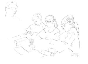 Big Draw - cartoon and family art day 11 Oct 2014