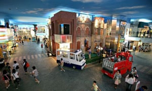 KidZania Tokyo is one of 16 theme parks in an expanding global franchise. One is set to open at Westfield London next year. Photograph: Kiyoshi Ota/Getty Images