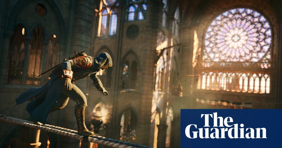 Assassin S Creed Unity Review Epic But Familiar Games The Guardian