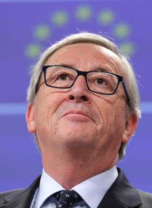 European Commission president Jean-Claude Juncker. Photo:(AP Photo/Yves Logghe