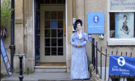 Contemplating a day out … Jane Austen