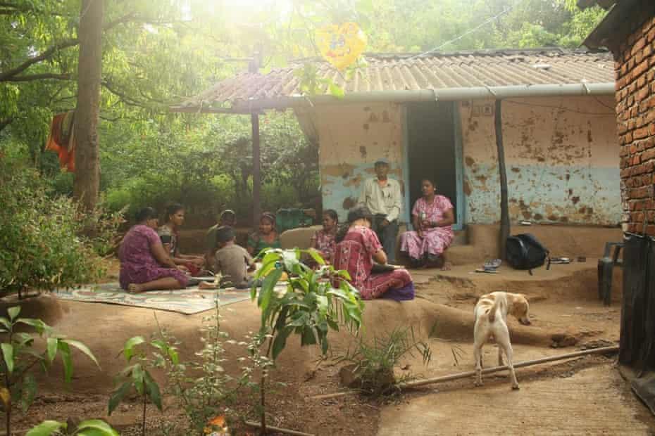 Chandunushay Jadhav's family in Aarey Milk Colony, who spot leopards every few weeks.