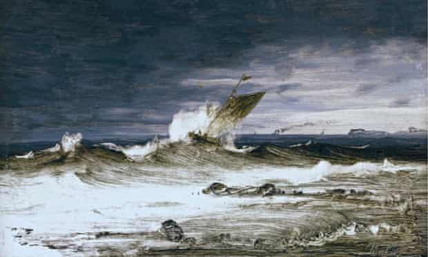 Peder Balke's Seascape