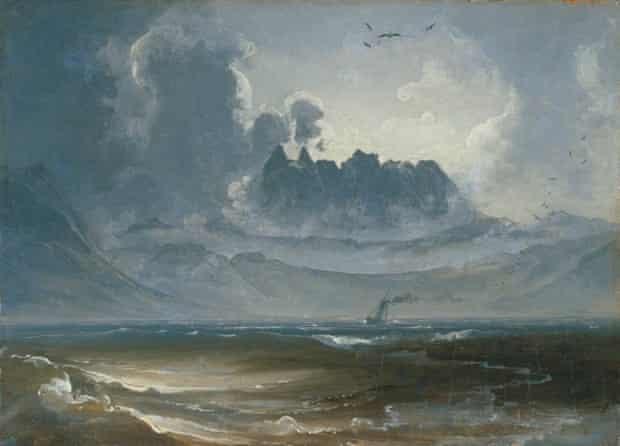 The Trolltindene Range by Peder Balke