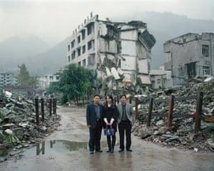 Sichuan Wenchuan earthquake tour, China.