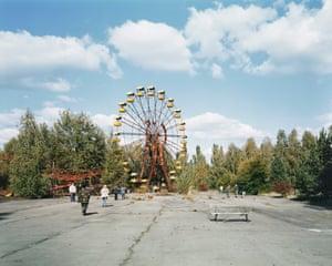 The site of the Chernobyl disaster in Pripyat, Ukraine.