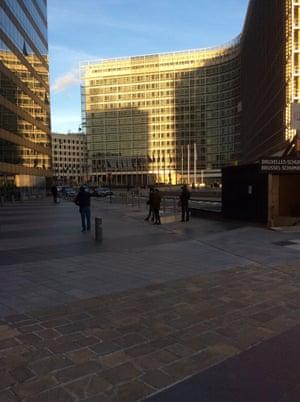 EU Commission building