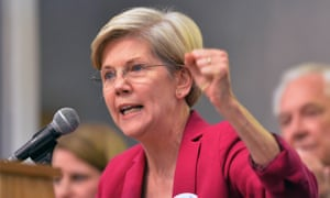 Warren said: 'The government comes down hard on individuals who break the law time after time, and it should do the same for large financial institutions.'