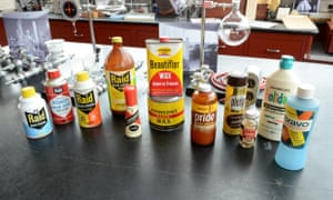 Original SC Johnson household products from the 1950s. The company has taken an industry-leading stance on ingredient transparency, becoming the first consumer product company to disclose fragrance ingredients in its products.