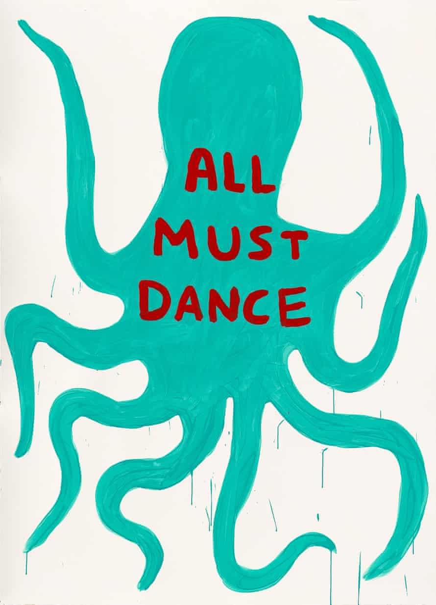 David Shrigley's Untitled 2014 octopus