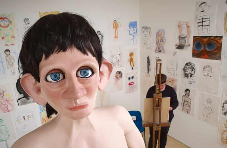 Life Model 2012, part of the Turner prize show.