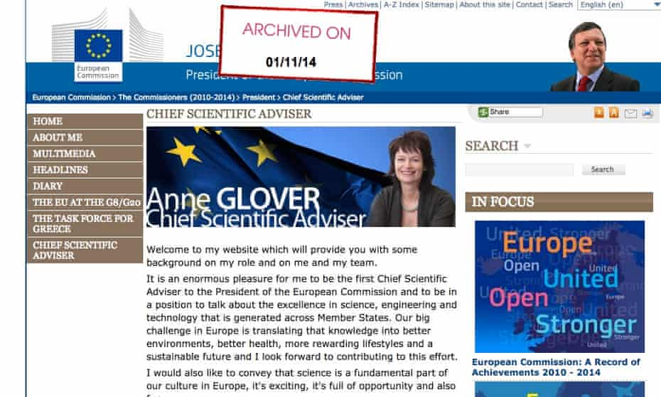 Glover archived site
