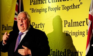 Clive Palmer Rang Up ABC Radio While Driving In Queensland To Participate The Quiz Photograph Tracey Nearmy AAPImage