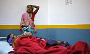 Women, who underwent a sterilization in India