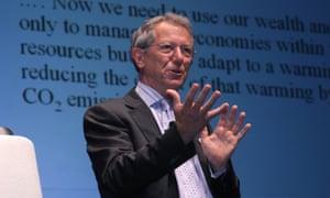 Sir David King, UK Government's chief scientific adviser