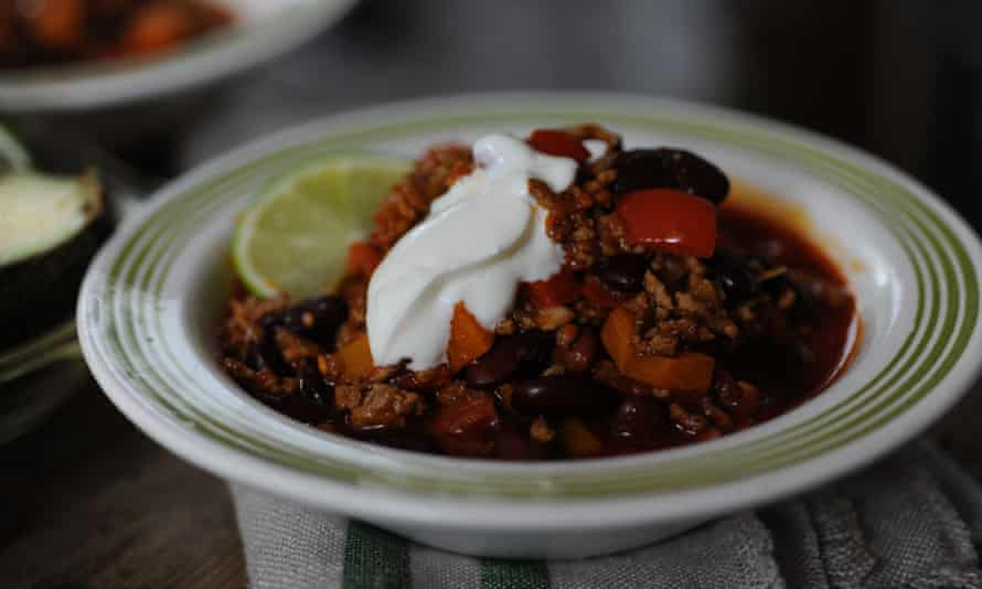 Have it your way: chiil con carne.