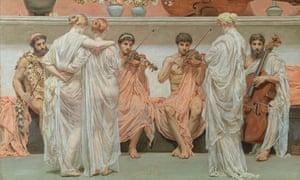 Albert Moore 'A Quartet A painter's tribute to the Art of Music' 1868