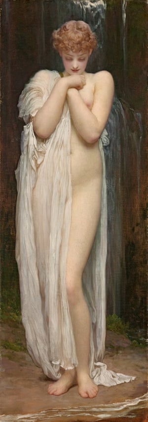 Leighton's Crenaia, the nymph of the Dargle 1880
