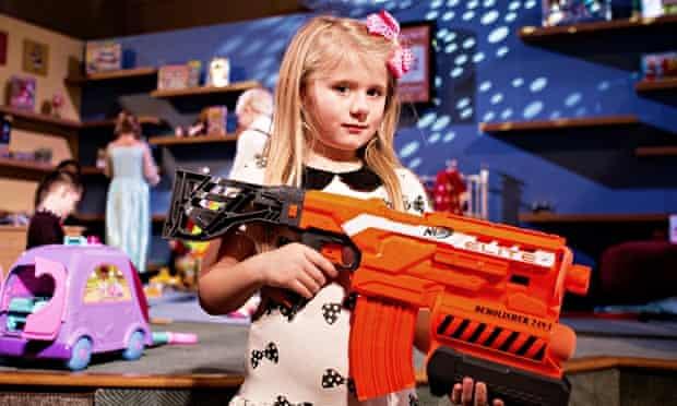 Nerf gun Dreamworks Hasbro