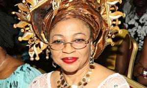 Folorunsho Alakija of Nigeria is the richest black woman in the world, ahead of Oprah Winfrey, with a personal fortune of $7.3bn from oil and gas. Photograph: Bennett Raglin/Getty Images