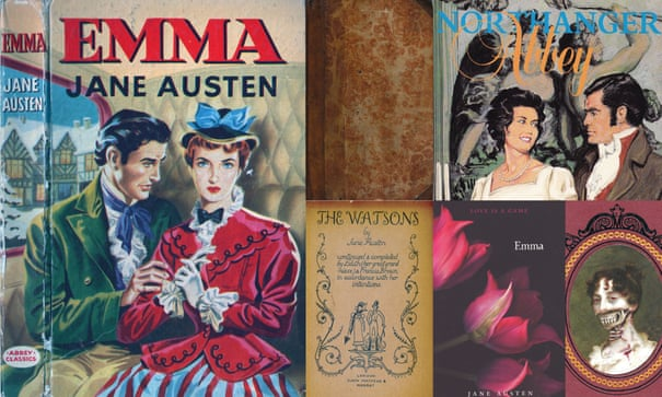 Jane Austen fashion history –200 years of cover designs in