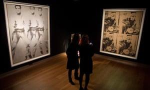 Triple threat: Elvis brought in more than Warhol's Brando piece.