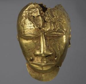 Ashanti Gold Mask - stolen art
