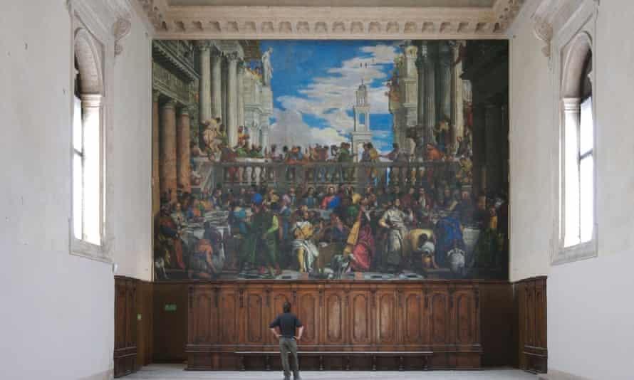 Veronese's The Wedding of Cana - stolen art