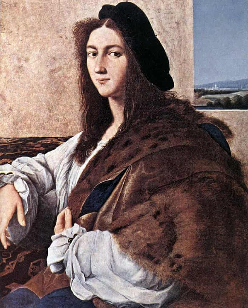 Portrait of a Young man by Raphael