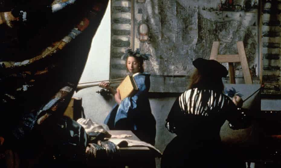 The Art of Painting by Johannes Vermeer